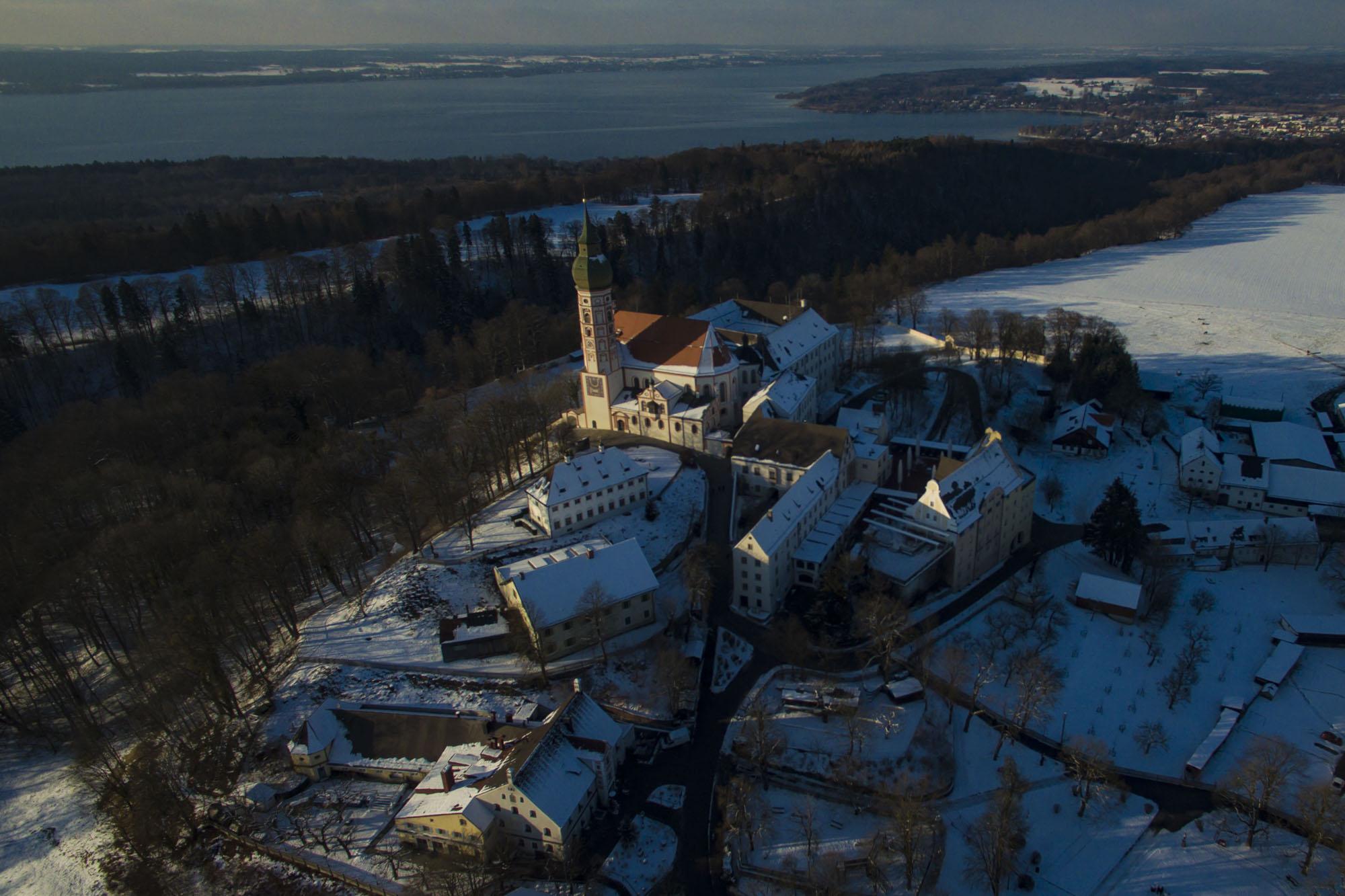 Kloster Andechs mit Ammersee